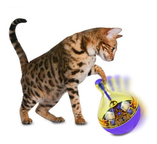 Brinquedo Pet Interativo Libera Petisco Cães Gato Snack