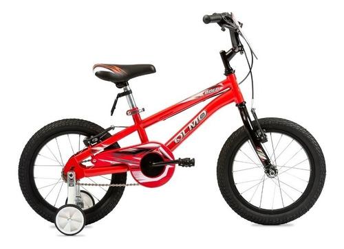 Bicicleta Infantil Olmo Infantiles Bold R16 Frenos V-brakes Color Rojo/negro