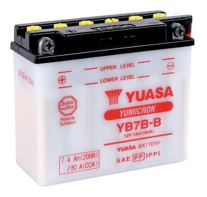 Batería De Moto Yuasa Yb7b-b, San Borja Delivery.
