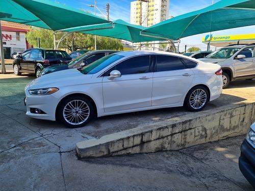 Ford Fusion Titanium Fwd At 2.0 Gasolina Branco 2014