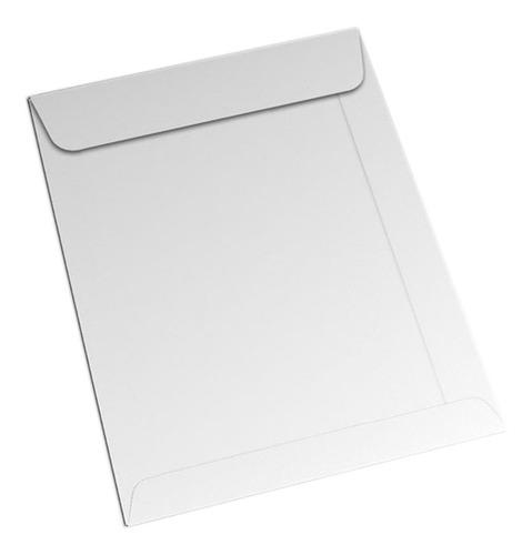 250 Envelopes Branco Kraft 229x324 Envelope A4 Sulfite Sacos