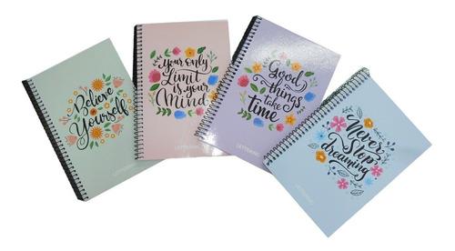 Cuaderno A5 Con Puntos Ideal Para Lettering Tecnopapeleria