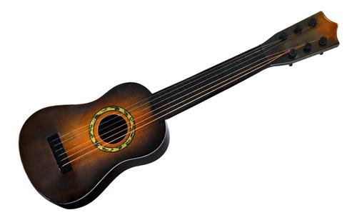 Violão Musical Infantil Brinquedo Musical  6 Cordas