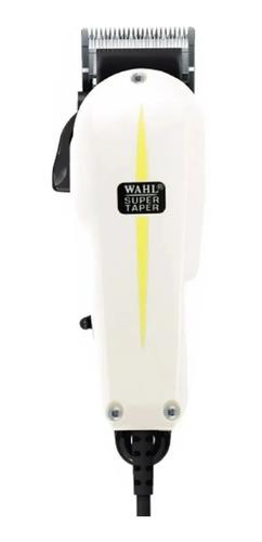 Cortador De Cabelo Wahl Professional Super Taper  Branco 127v