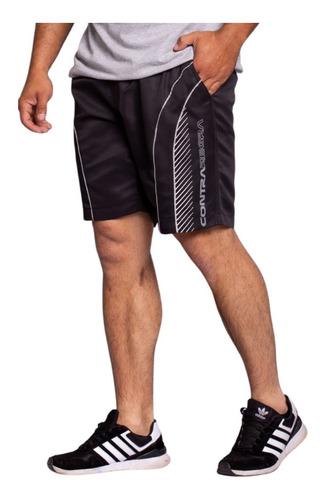 Bermuda Short Plus Size Masculina Elástico Tamanho Especial
