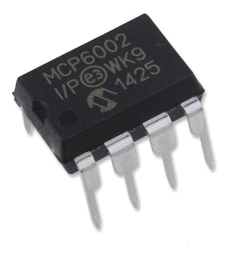 Amplificador Operacional Mcp6002 Mcp6002-i / P
