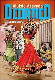 Livro O Cortiço Em Quadrinhos Aluisio Azevedo