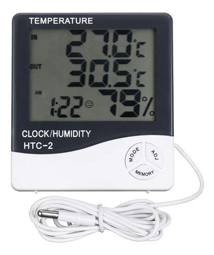 Medidor De Temperatura Dual Con Sonda