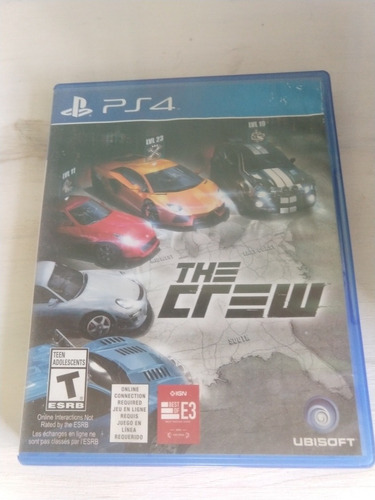 The Crew Ps4 Fisico