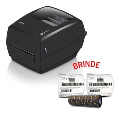 Impressora De Etiquetas Elgin L42 Pro Usb C/ Bartender - 12x