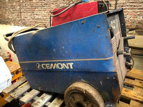 Maquina Soldad Cemont Sv403 Trifásica 350amp