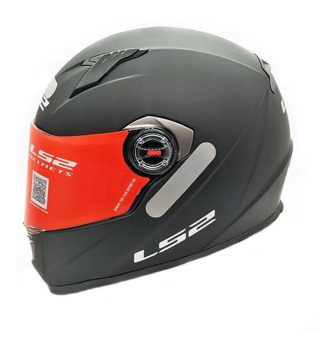 Capacete Moto Integral Ls2 Monocolor Ff358