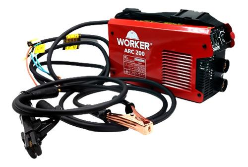Máquina Para Solda Inversora Arc200 220v Worker