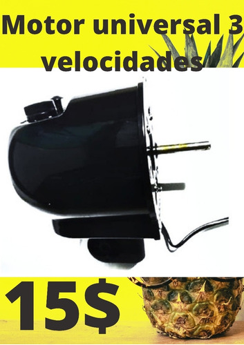 Motor Ventilador Completo 3 Velocidades