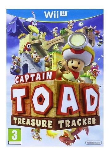Captain Toad: Treasure Tracker Nintendo Wii U Físico