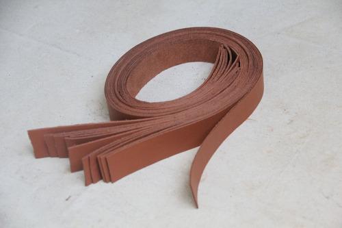 50 Tiras De Couro 100cm X 2cm Alça Tiracolo Bolsas De Crochê