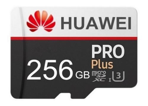 Tarjeta De Memoria Micro Sd 256 Gb Huawei + Lector