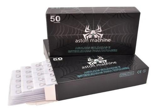 Agulhas Aston Machine De Tatuagem Traço Liner Tattoo 50un