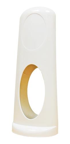 Porta Canudo De Plástico Tok Mercantil Branco