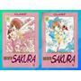 Mangás Card Captor Sakura Nº 1 E 2 ( Em Português )