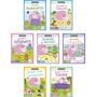 Kit Didático 7 Livros Apoio Escolar Português E Matemática