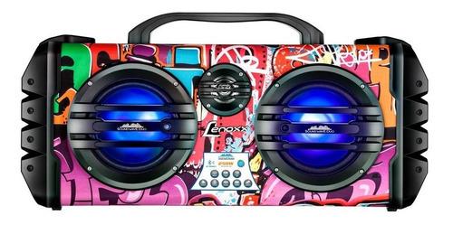 Caixa Som Bluetooth Amplificada Lenoxx Sound Wave Ca445 250w