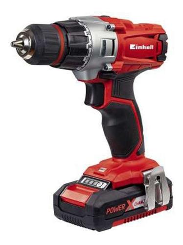 Taladro Eléctrico  Destornillador Einhell Power X-change Te-cd 18/2 Li Kit Inalámbrico 1250rpm 50hz/60hz Rojo 200v - 260v 18v