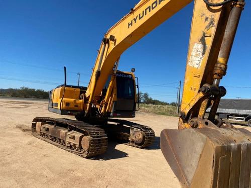 Escavadeira Hidráulica Hyundai 210 Lc 9200 Horas (tem Video)