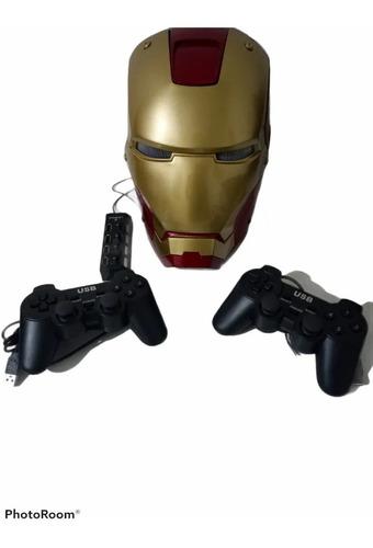 Capacete Iron Man Game De 27000 Jogos Controle Hub