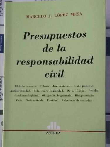 Presupuestos De La Responsabilidad Civil Lopez Mesa (2013)