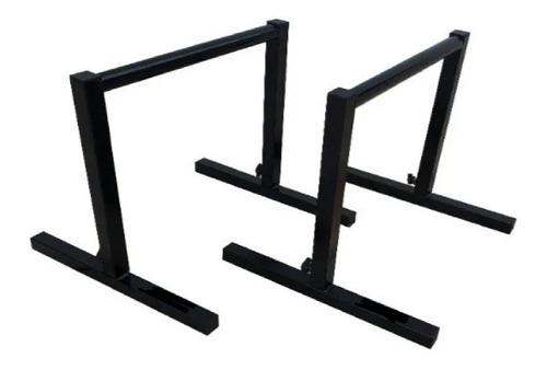 Barra Paralela De Chão Crossfit Parallettes Treino Funcional