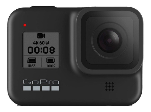 Câmera Gopro Hero8 4k  Chdhx-801ntsc/pal Black + Nf