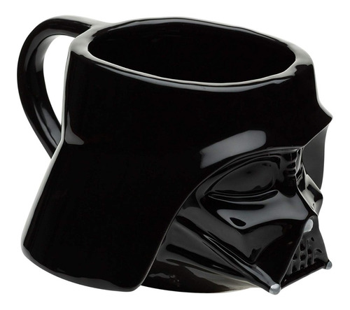 Taza Café Darth Vader Star Wars Disney Cerámica 3d 473ml