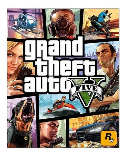 Grand Theft Auto V Standard Edition Rockstar Pc Digital