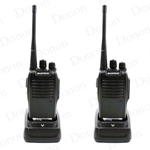 Kit 2 Radio Comunicador Walktalk Talkabout Profissional 777s