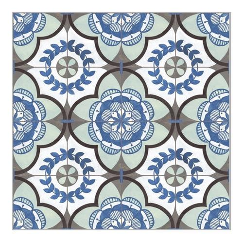 Porcelanato Urba Rectificado 58x58 1era Calcareo Azul