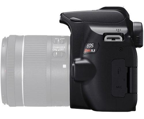 Nova Câmera Canon Sl3 Corpo 4k C/ Nf-e 1 Ano Garantia Canon