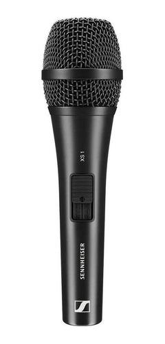 Microfone Sem Fio Sennheiser Xs 1 Dinâmico  Cardióide Preto