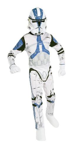 Disfraz De Soldado Clon De Niño De Star Wars Pequeño 4 - 6