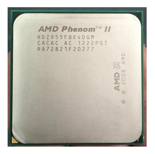 Processador Amd Phenom Ii X4 955 (rev. C3) Hdz955fbk4dgm De 4 Núcleos E 3.2ghz De Frequência