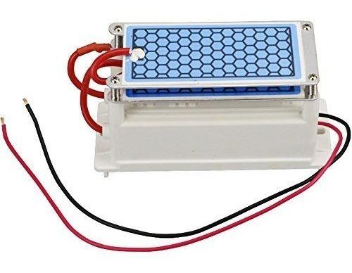 Placa Cerámica Generadora De Ozono Con Transformador 20g/h