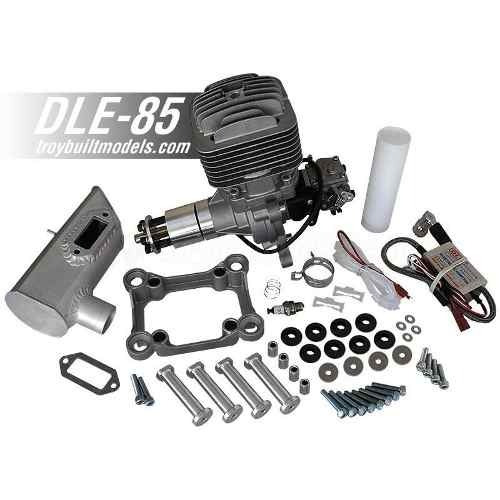 Motor Dle Engines Dle-85cc Gas Engine W/electronic Ignition