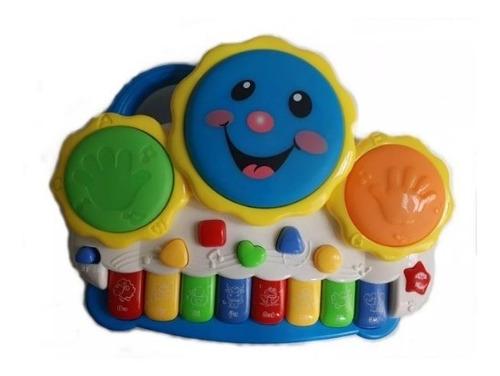 Piano Teclado Musical Bebê Brinquedo Infantil Divertido