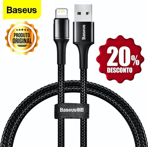 Cabo Usb Baseus Lightning Para iPhone iPad 2.4a 2m