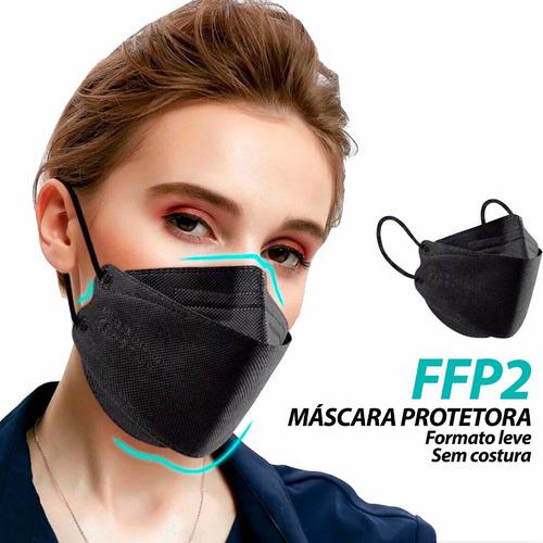 Máscaras Respiratória Proteção Facial Pff2 - Kn95 3m 3d