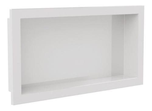 Kit 4 Nichos Para Banheiro E Cozinha Parede Embutir 30x60cm