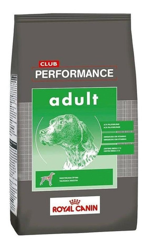 Alimento Royal Canin Club Performance Para Perro Adulto Todos Los Tamaños Sabor Mix En Bolsa De 15kg