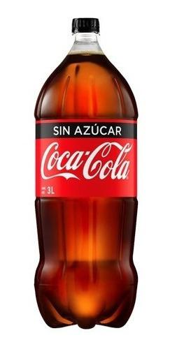 Refresco Coca Cola Sin Azúcar 3 Litros Descartable