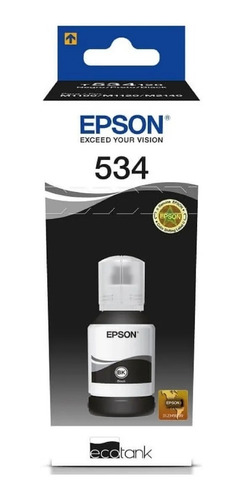 Tinta Epson 534 Botella Original T534 M1120 M2170 M3170 Bgui