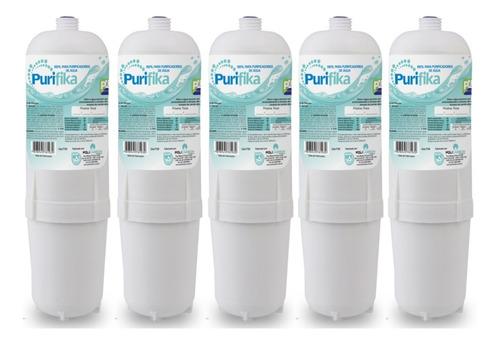 Kit 5 Filtro Refil Purificador De Agua Soft  Soft Everest